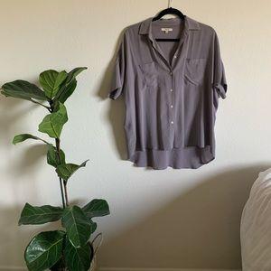 Madewell Tops - Madewell // silk courier shirt